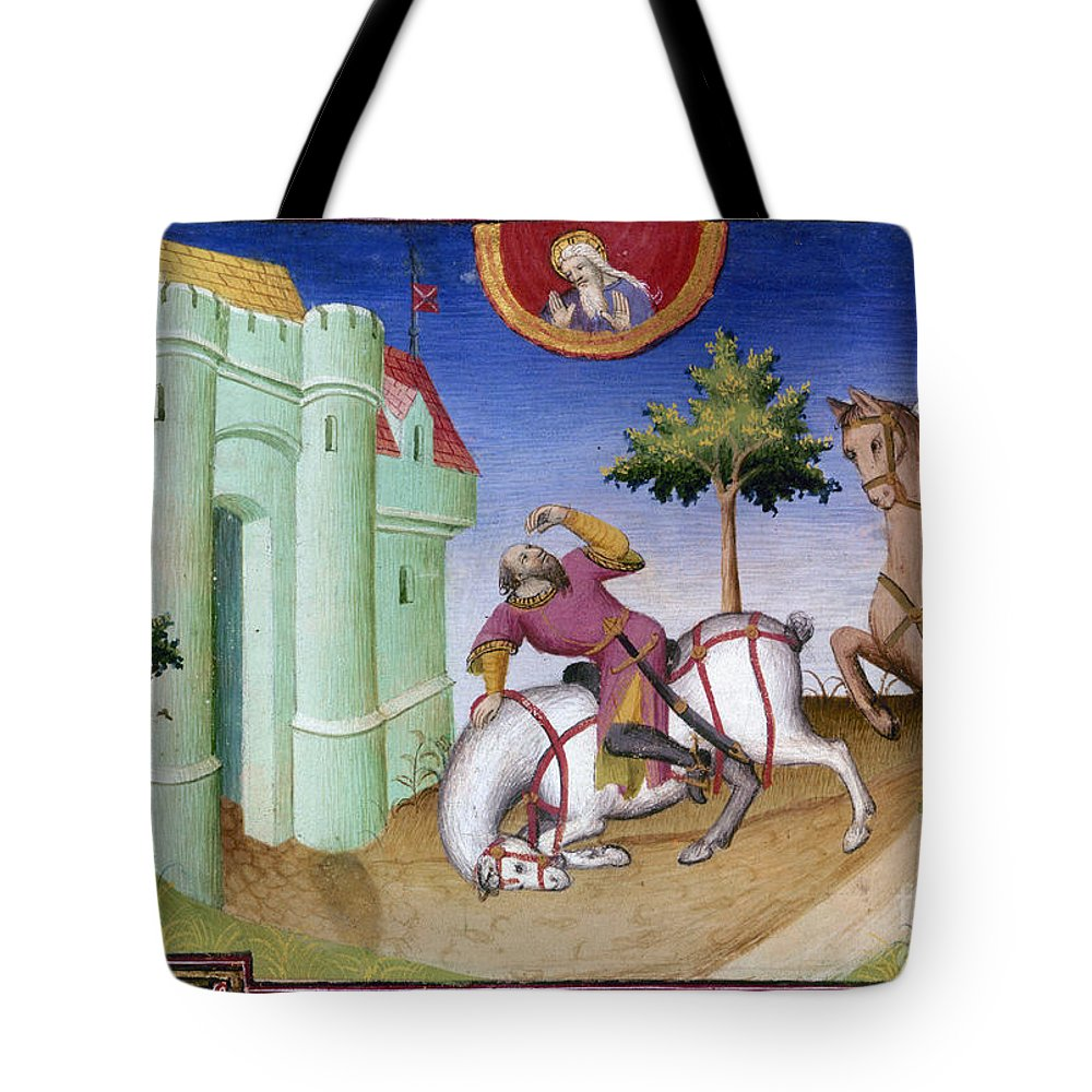 1410 Tote Bag featuring the photograph Conversion Of Saint Paul by Granger
