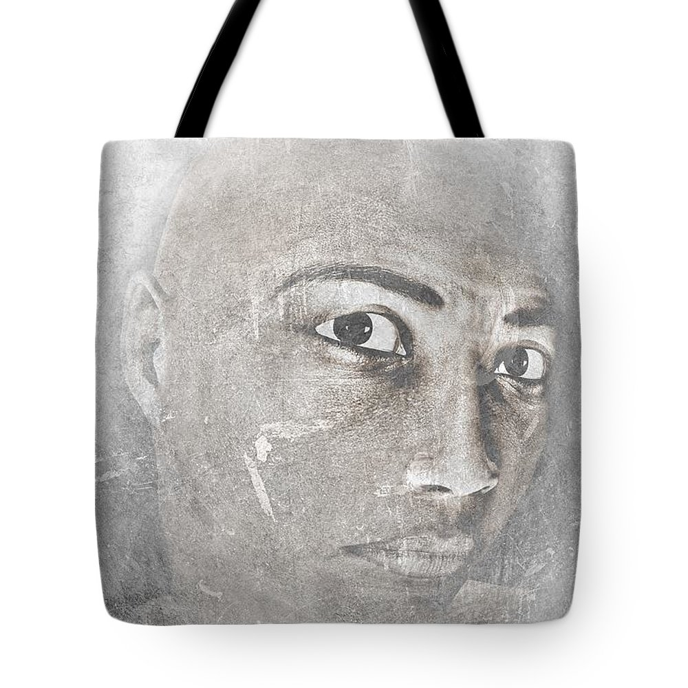 Conviction Tote Bag featuring the photograph Conviction by Movie Poster Prints