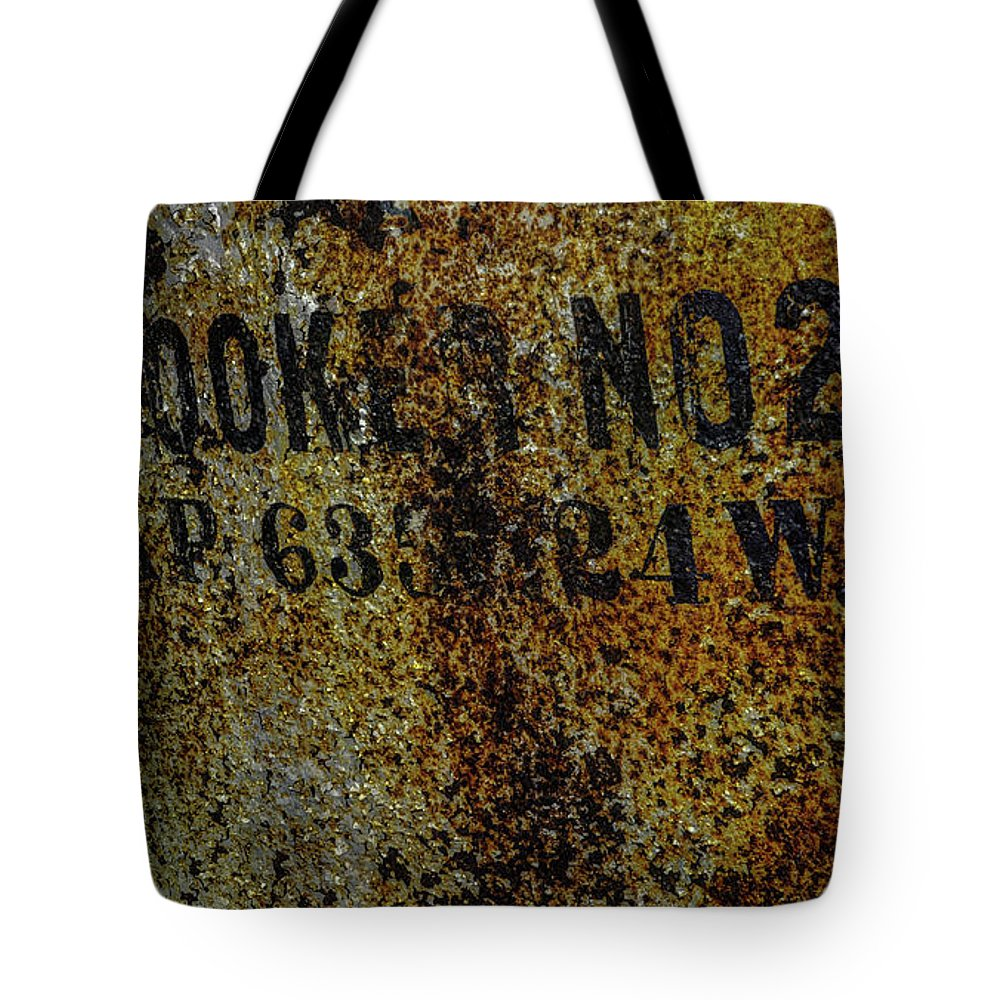 Tote Bag featuring the photograph Cooker No. 2 by Jim Figgins