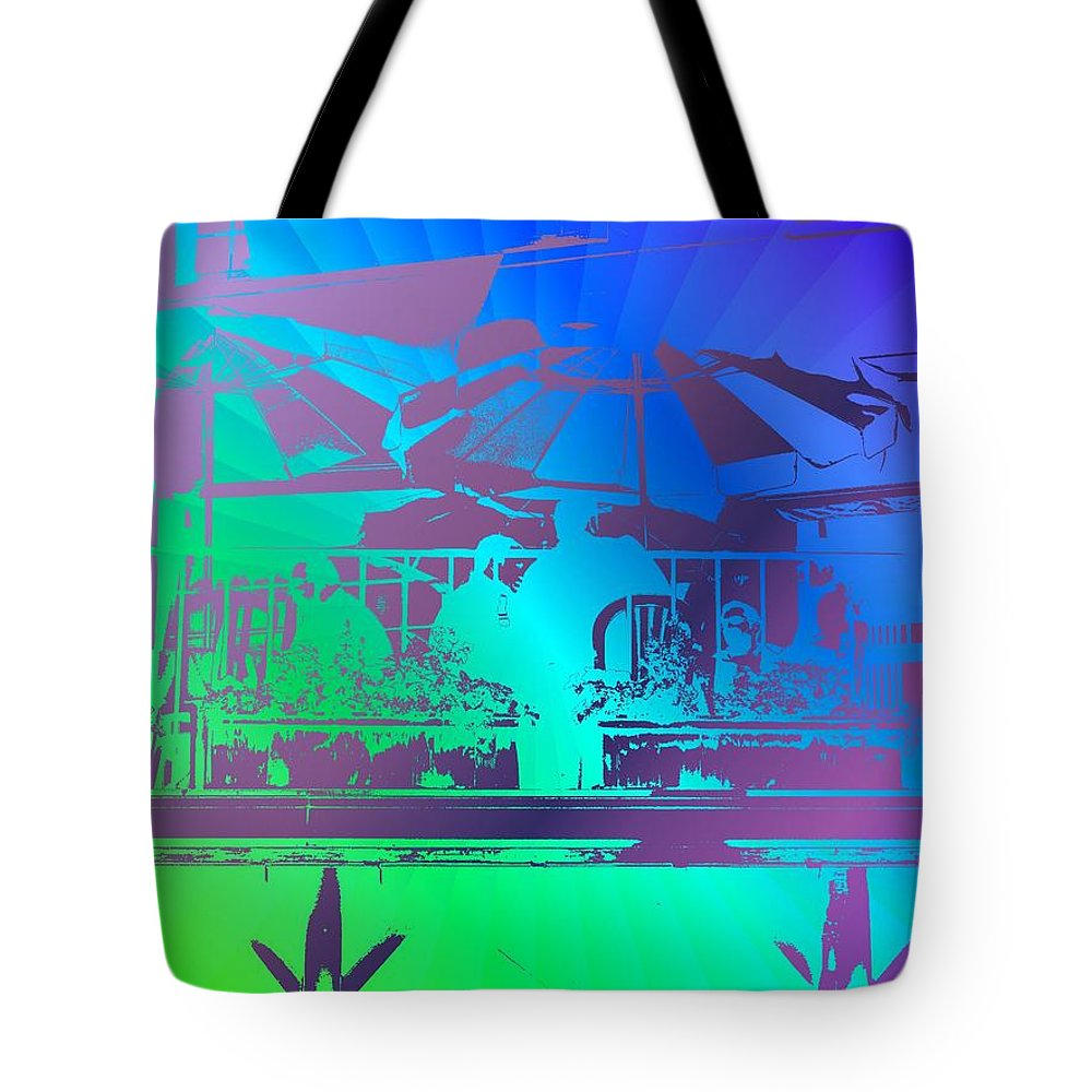 Seattle Tote Bag featuring the photograph Copacabana by Tim Allen