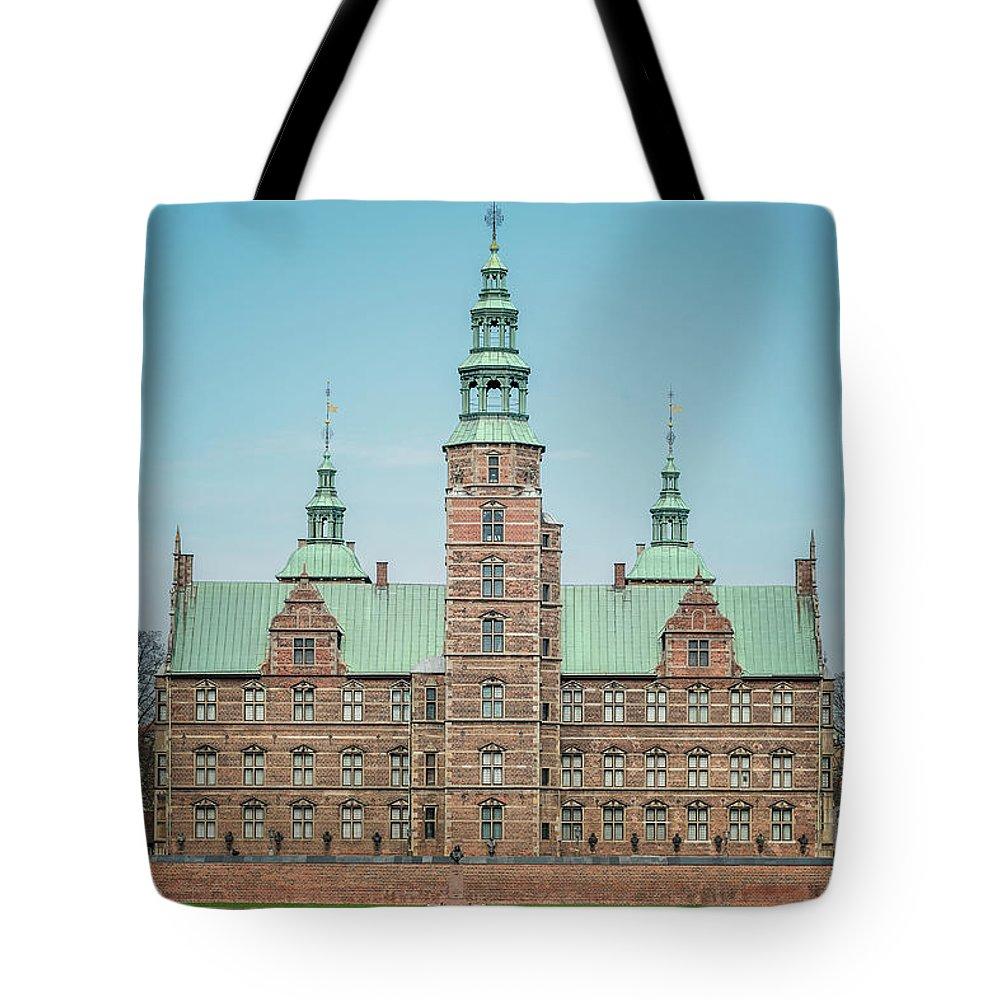 Denmark Tote Bag featuring the photograph Copenhagen Rosenborg Castle Back Facade by Antony McAulay