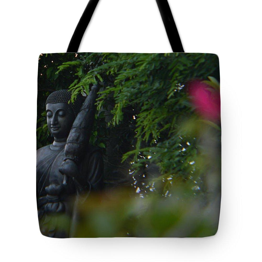 Buda Tote Bag featuring the photograph Corazon De Buda by Lenin Caraballo