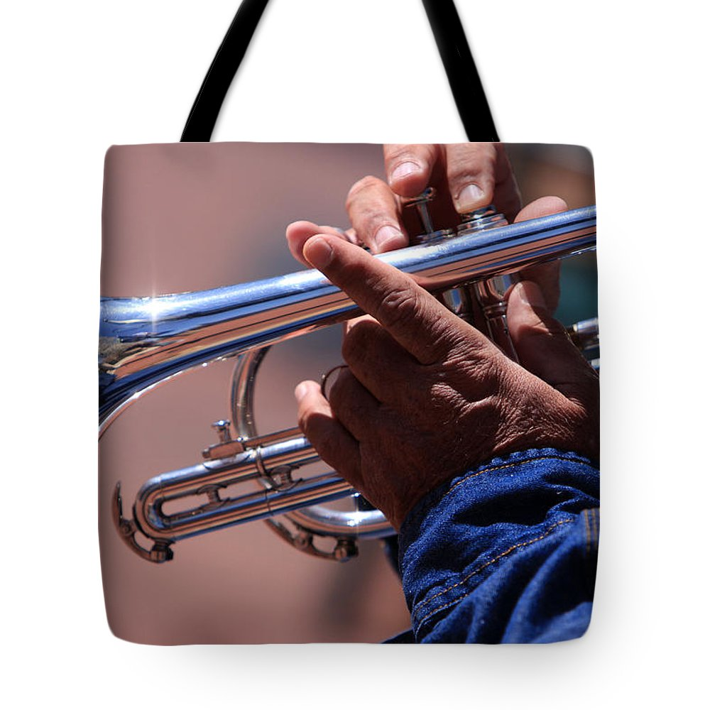 Cornet Tote Bag featuring the photograph Cornet On Pearl Street by James BO Insogna