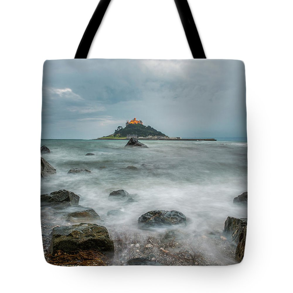 Landscape Tote Bag featuring the photograph Cornwall I by Oliver Spier