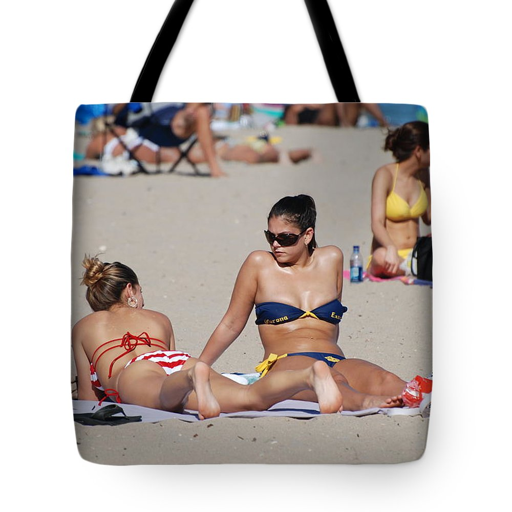 Girls Tote Bag featuring the photograph Corona Strips by Rob Hans