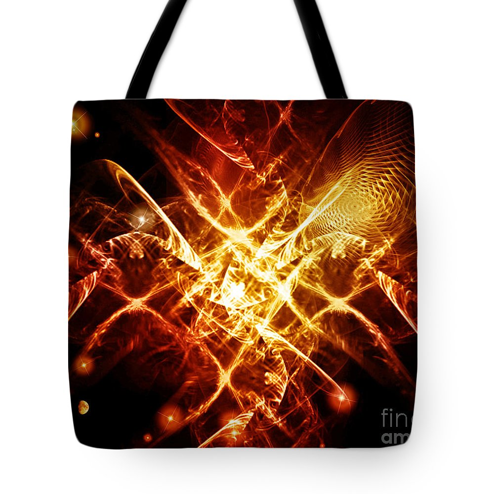 Cos 31 Tote Bag featuring the digital art Cos 31 by Taylor Webb