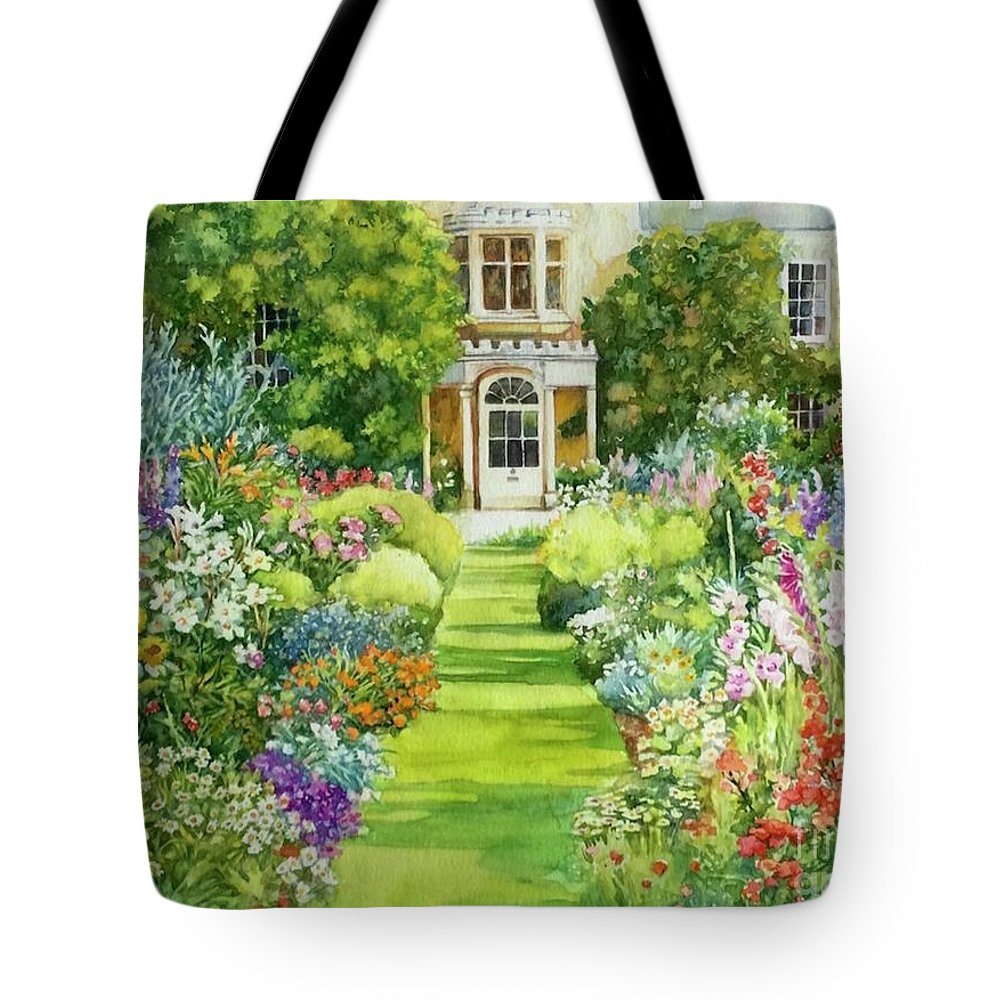 cottage anglais tote bag for sale by francoise chauray. Black Bedroom Furniture Sets. Home Design Ideas