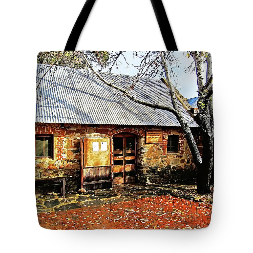 Rockford Tote Bag featuring the photograph Cottage Industry by Douglas Barnard