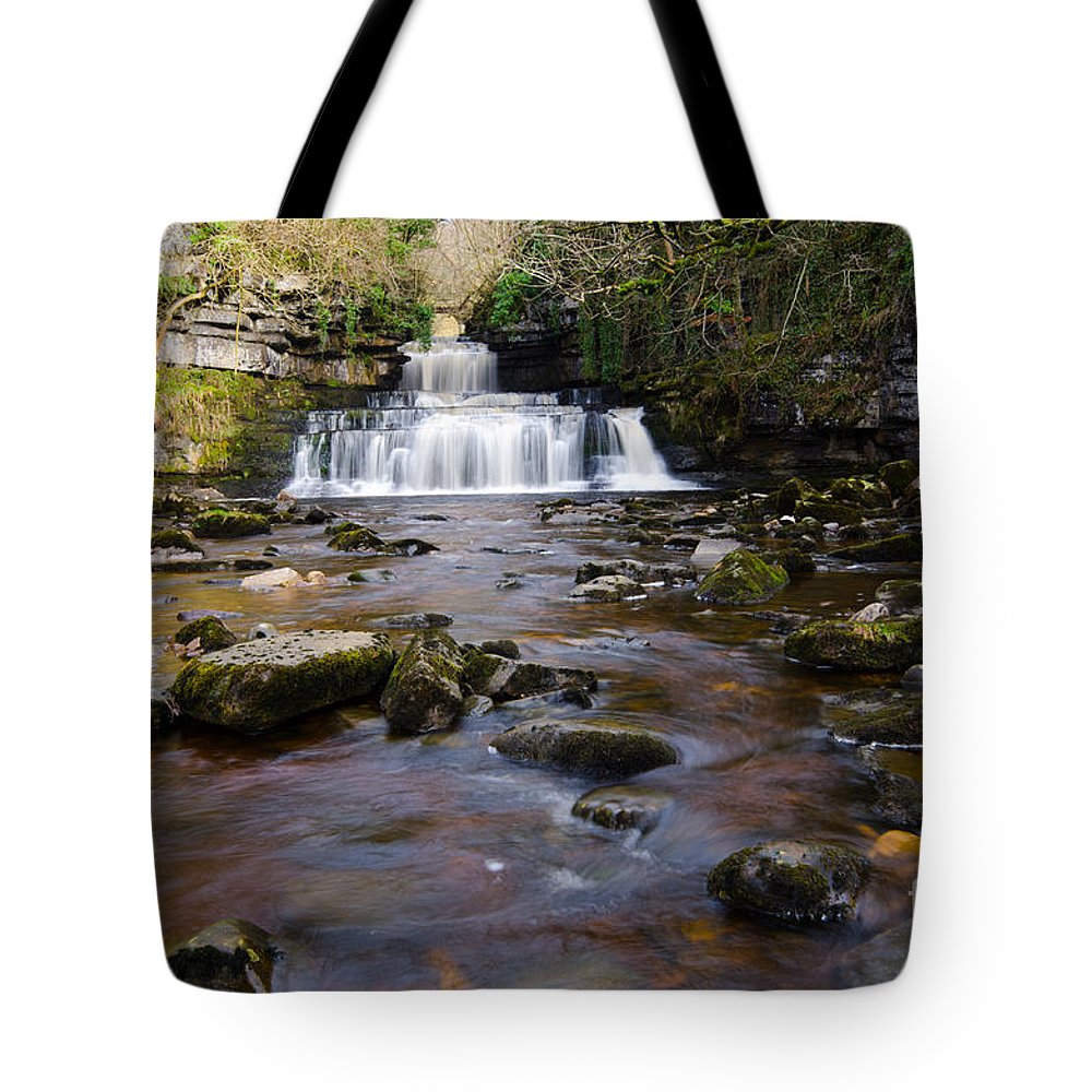 Cotter Force Tote Bag featuring the photograph Cotter Force by Smart Aviation