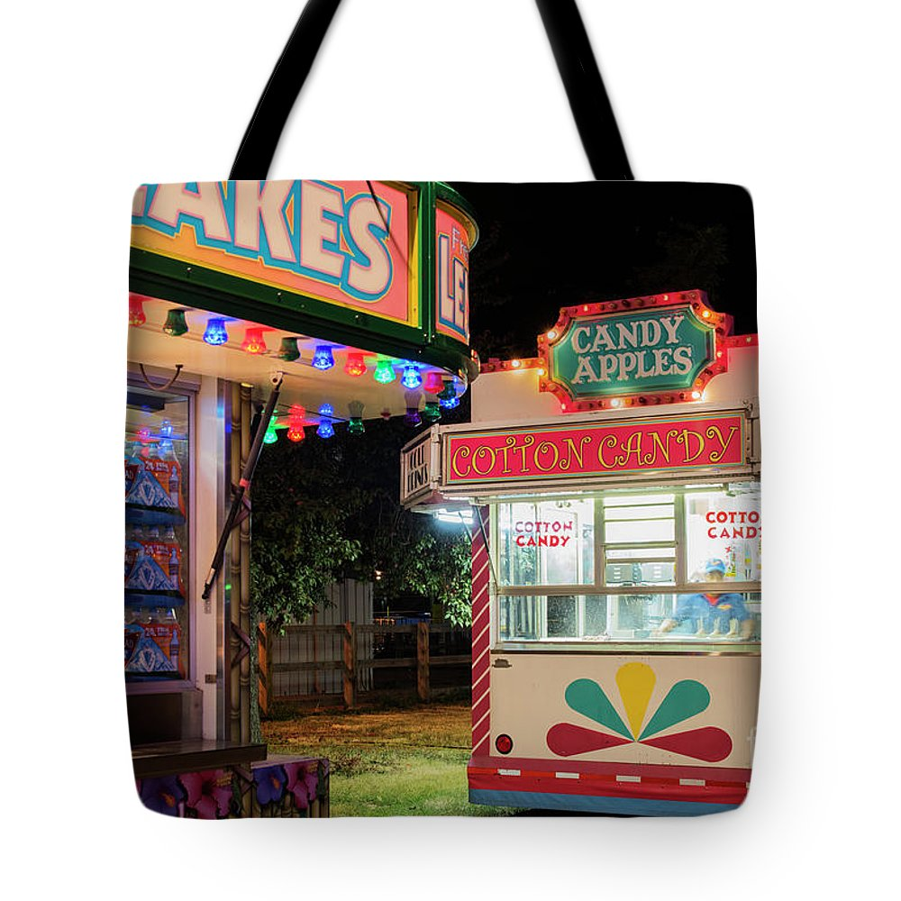 Advertisement Tote Bag featuring the photograph Cotton Candy by Juli Scalzi