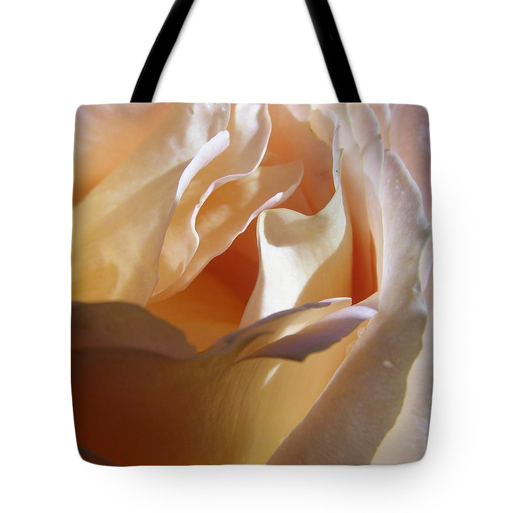 Rose Tote Bag featuring the photograph Cotton Candy by Larry Lacy