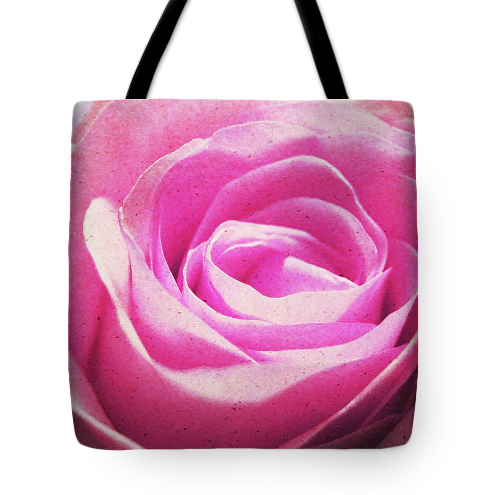 Rose Tote Bag featuring the photograph Cotton Candy Pink by JAMART Photography