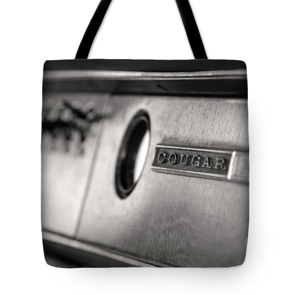 Vintage Tote Bag featuring the photograph Cougar by Traci Cottingham