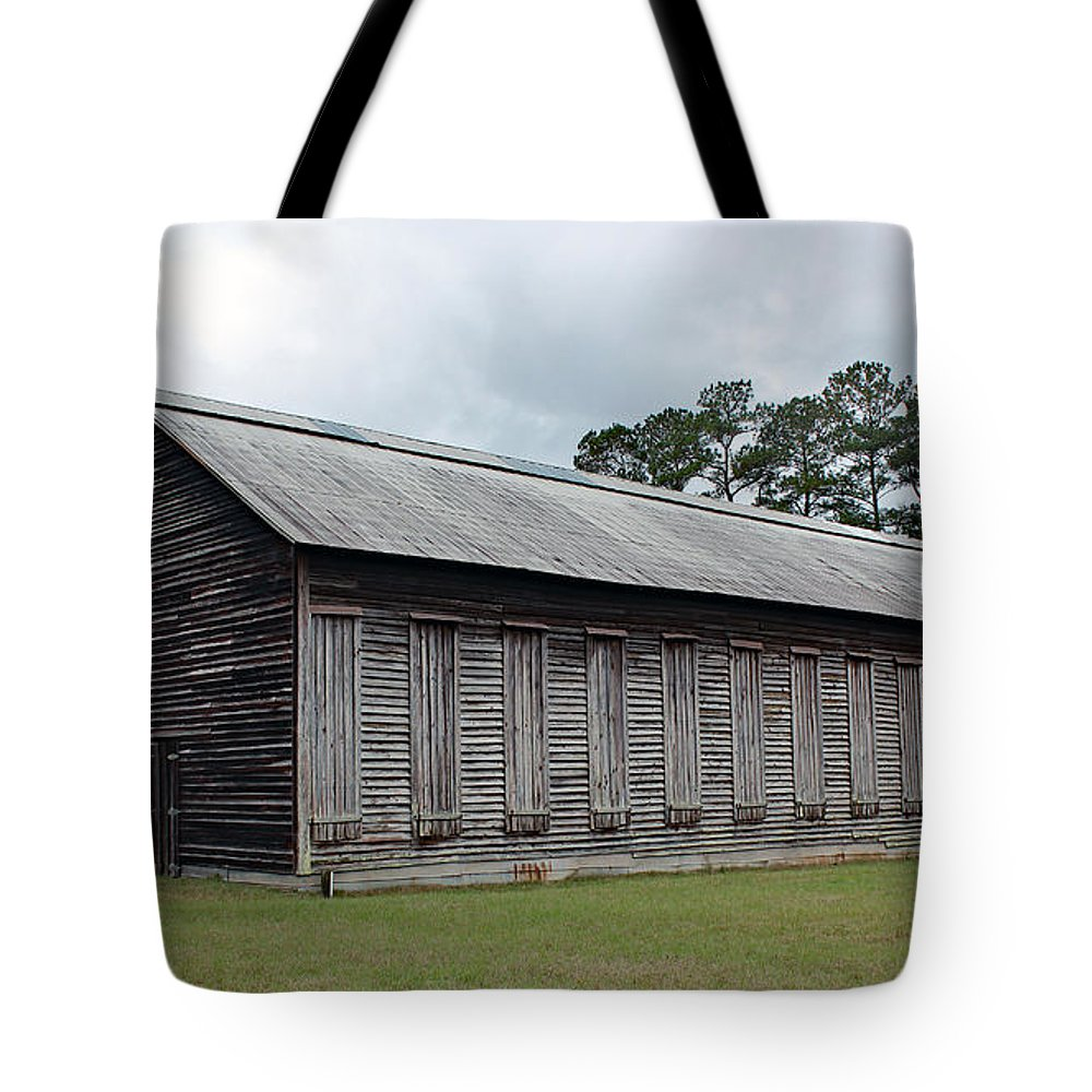Art Tote Bag featuring the photograph Country Barn - Well Used by Bill And Deb Hayes