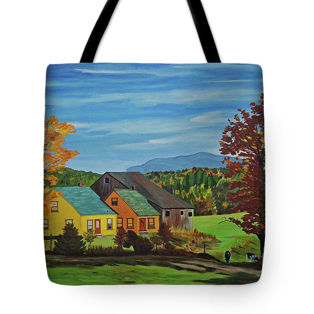 Country Tote Bag featuring the photograph Country Home by Rich Walter