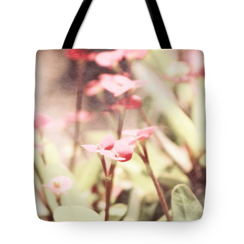 Prism Pink Tote Bag featuring the photograph Country Memories in Prism Pink by Colleen Cornelius