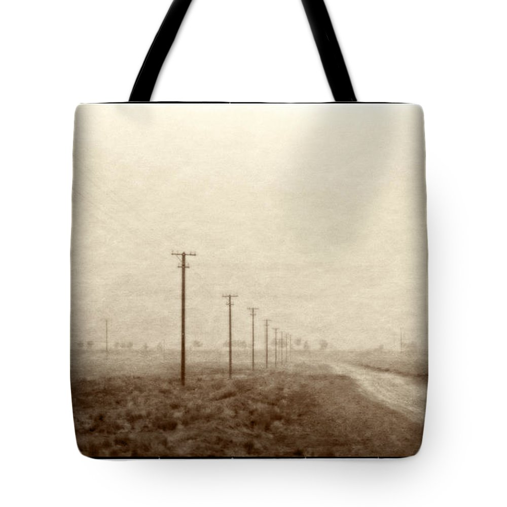 Iran Tote Bag featuring the photograph Country Road, Iran by Michael Ziegler