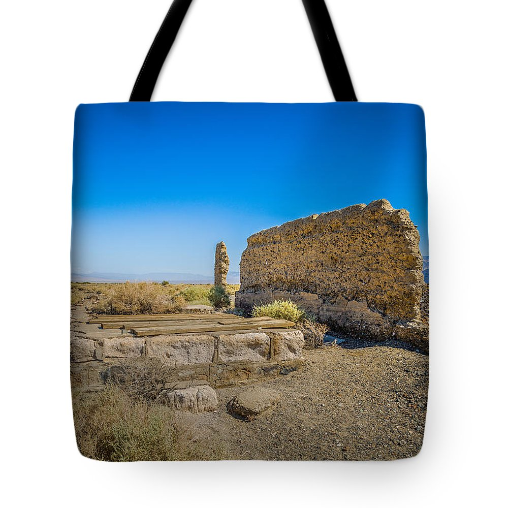 Death Valley National Park Tote Bag featuring the photograph Country Store by John Bosma