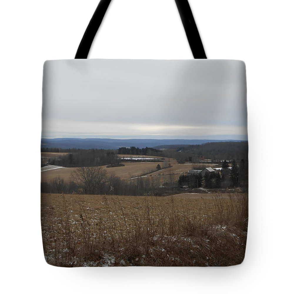 Country Tote Bag featuring the photograph Countryside View by Jeremiah Wilson