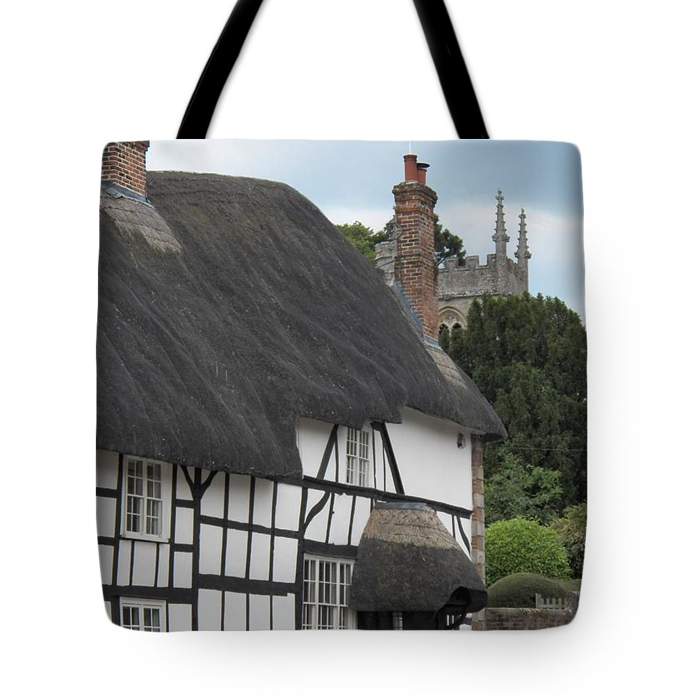Pewsey Village And Civil Parish Tote Bag featuring the photograph Court House by David A James