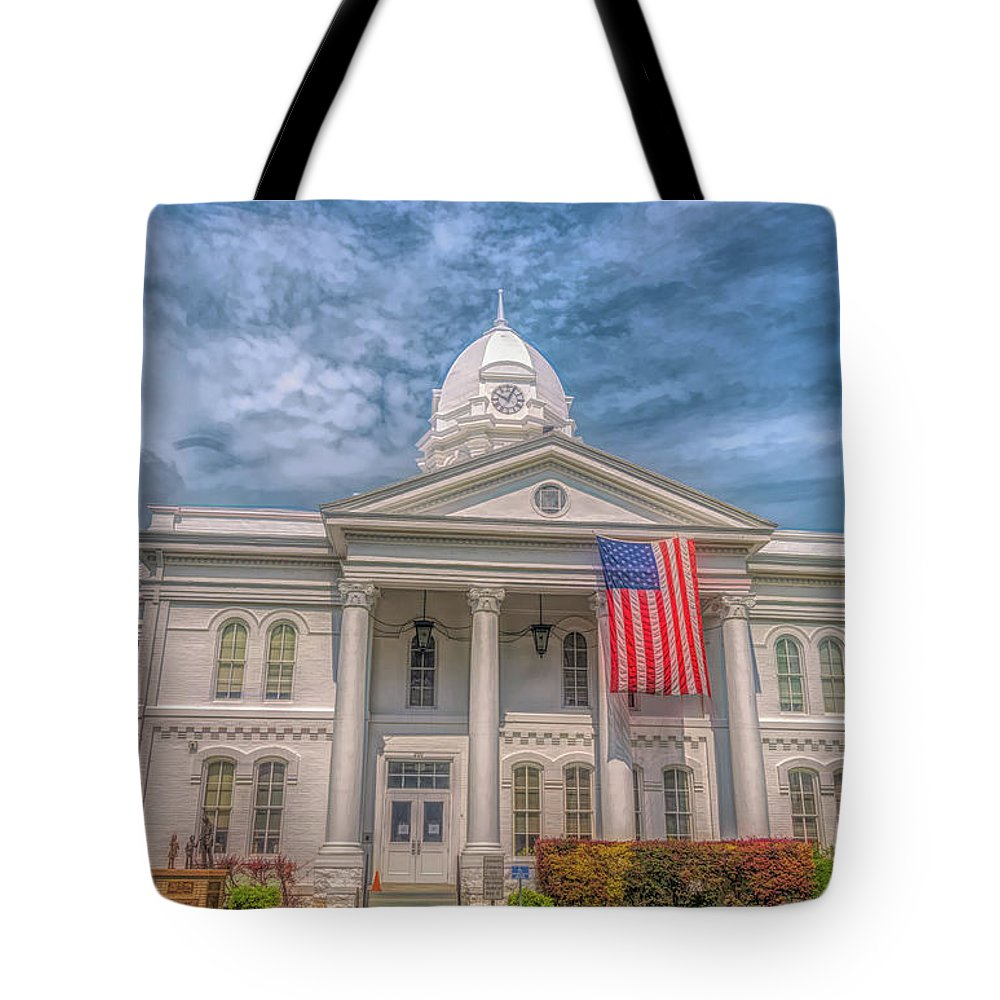 Tote Bag featuring the photograph Courthouse2 by Craig Applegarth