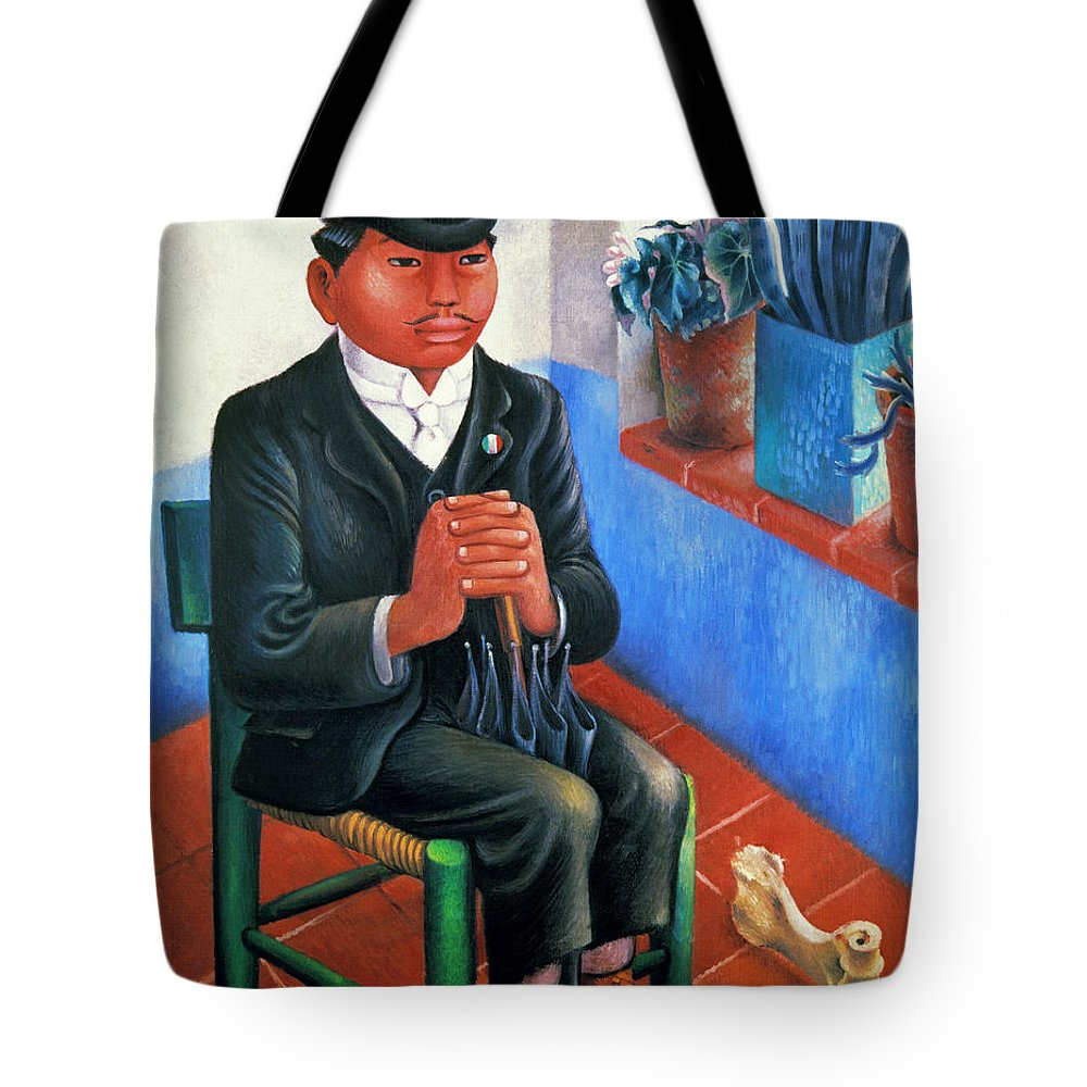 1930s Tote Bag featuring the photograph Covarrubias: The Bone by Granger