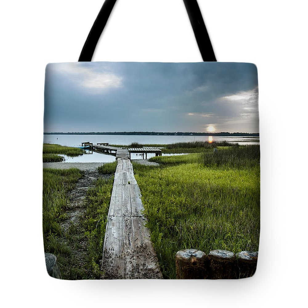 Sunrise Tote Bag featuring the photograph Crab Walk by Norman Johnson