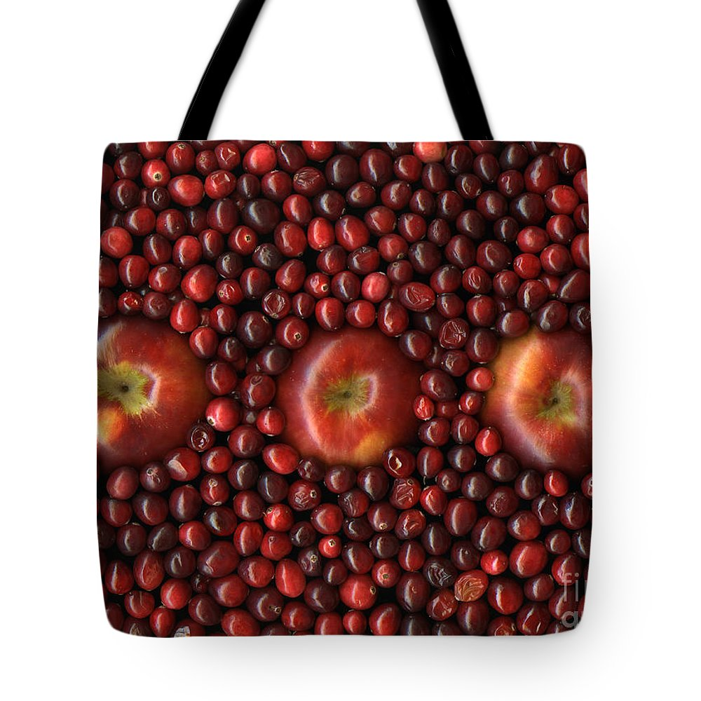 Slanec Tote Bag featuring the photograph Cranapple by Christian Slanec