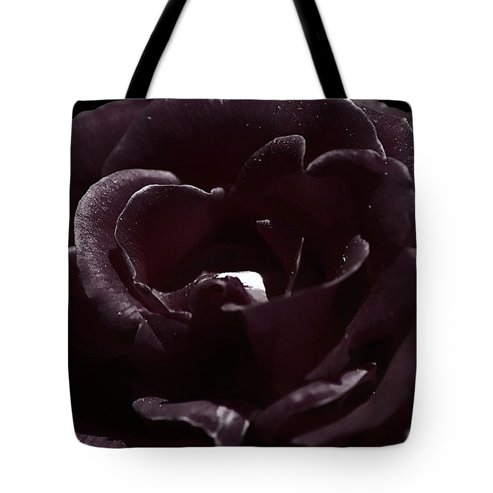 Clay Tote Bag featuring the photograph Cranberry Rose by Clayton Bruster