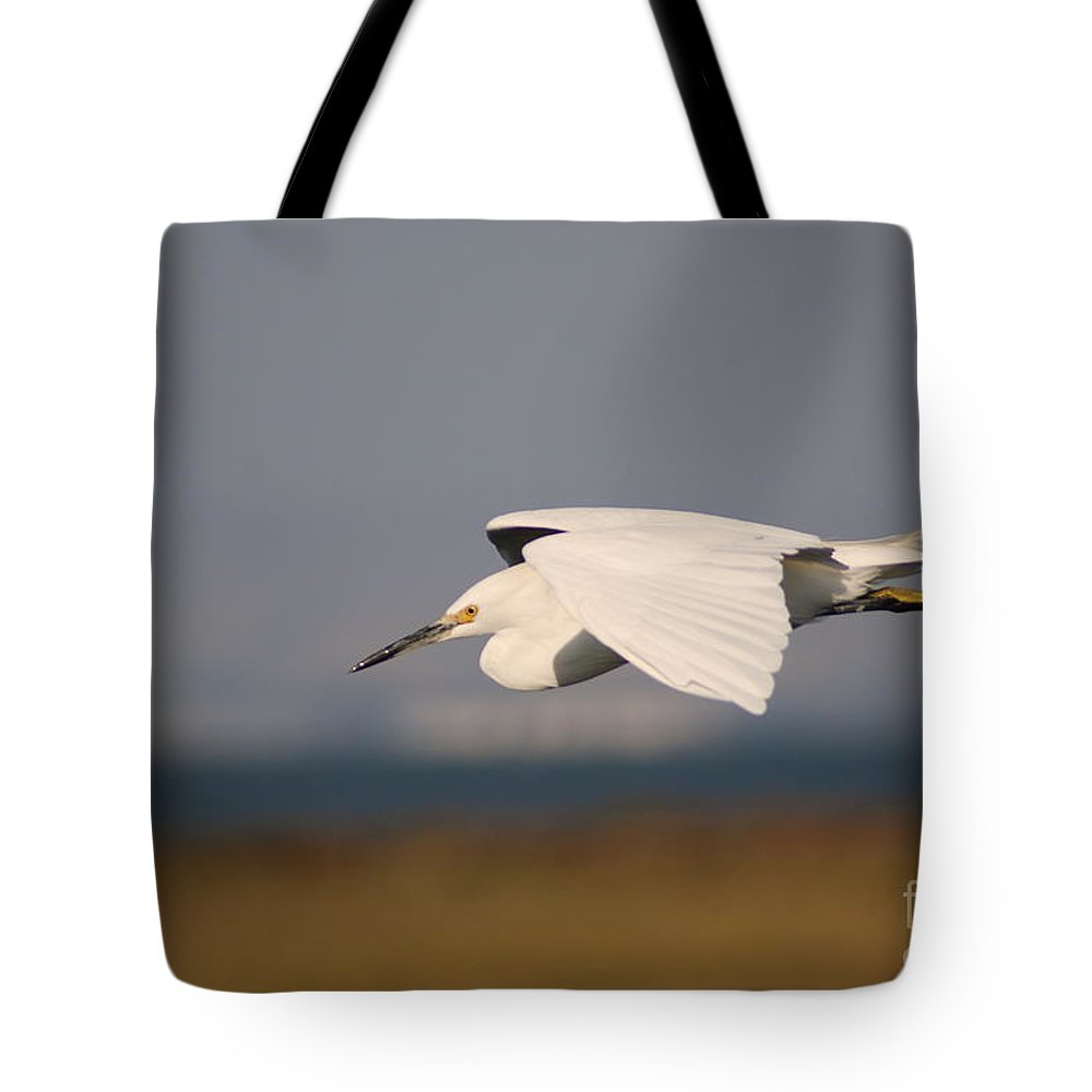 Animal Tote Bag featuring the photograph Crane by Catherine Lau