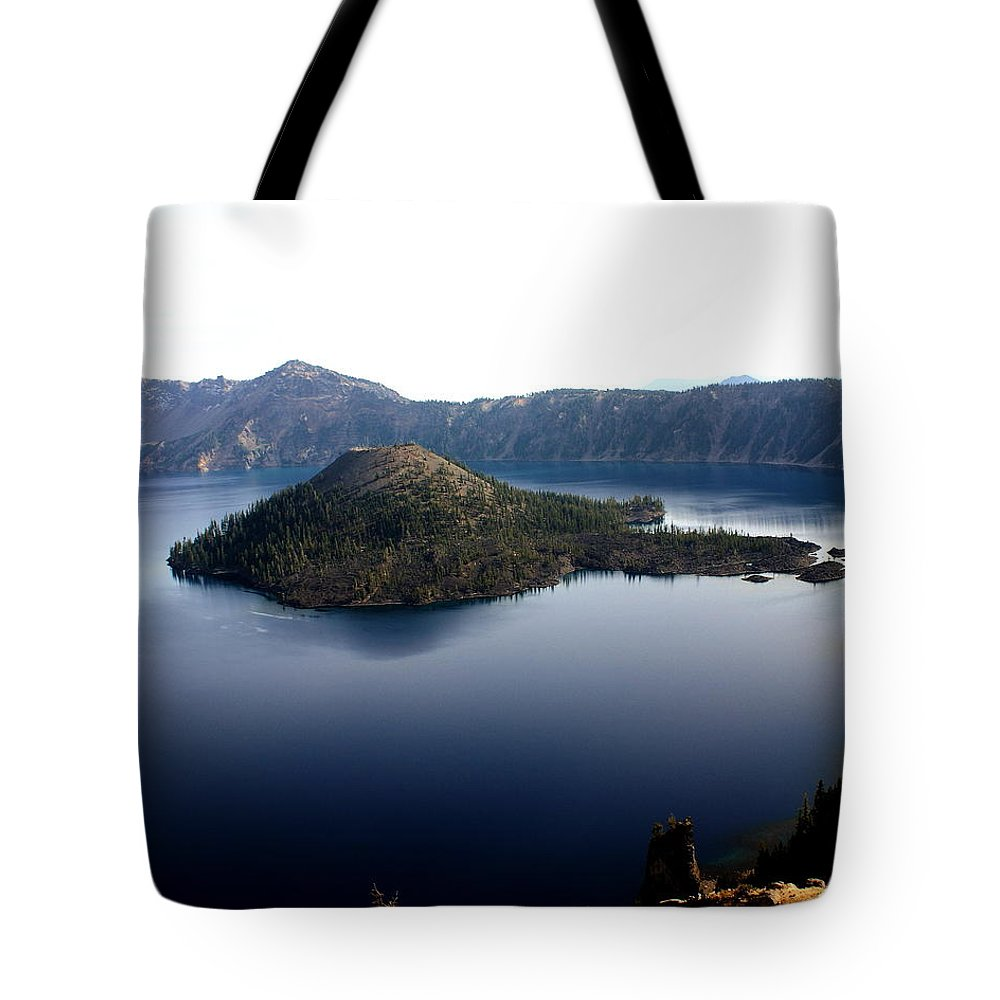 Crater Lake Tote Bag featuring the photograph Crater Lake 2 by Marty Koch