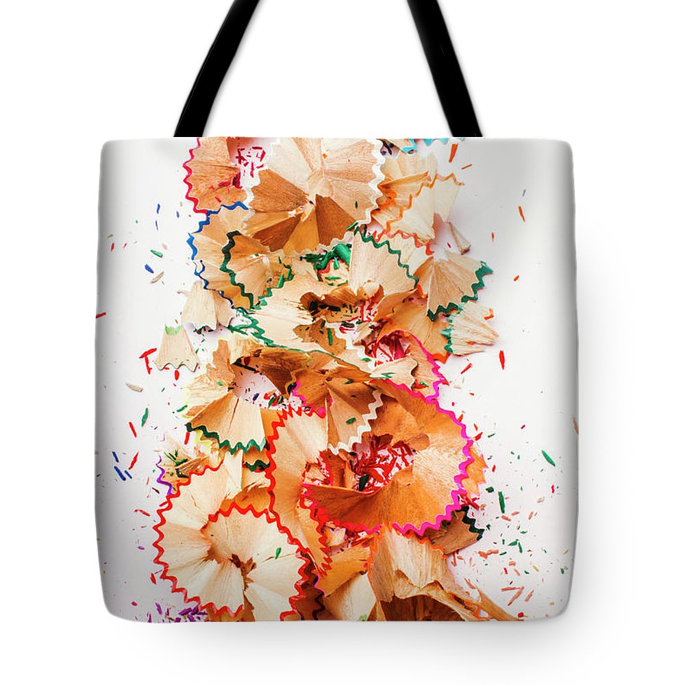 School Tote Bag featuring the photograph Creative Mess by Jorgo Photography - Wall Art Gallery