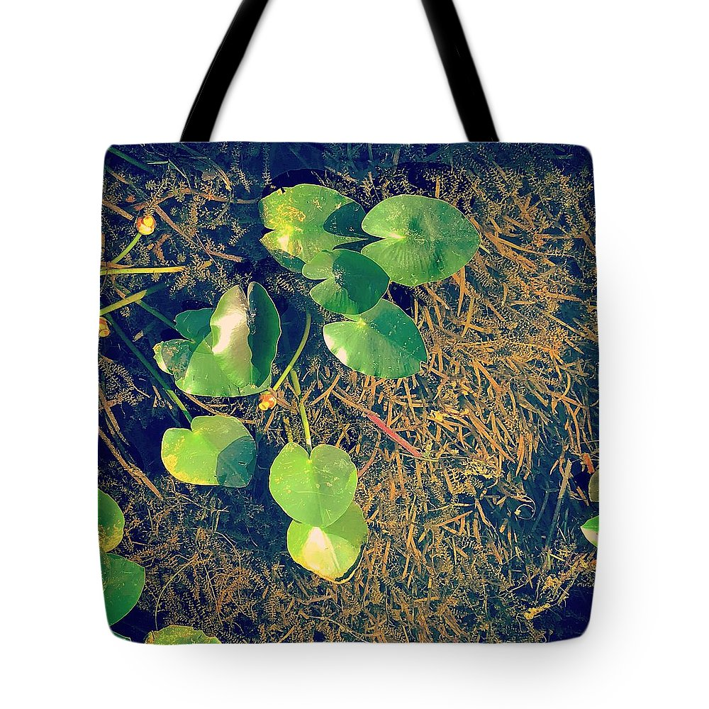 Landscape Tote Bag featuring the photograph Creek by Olivia Jones