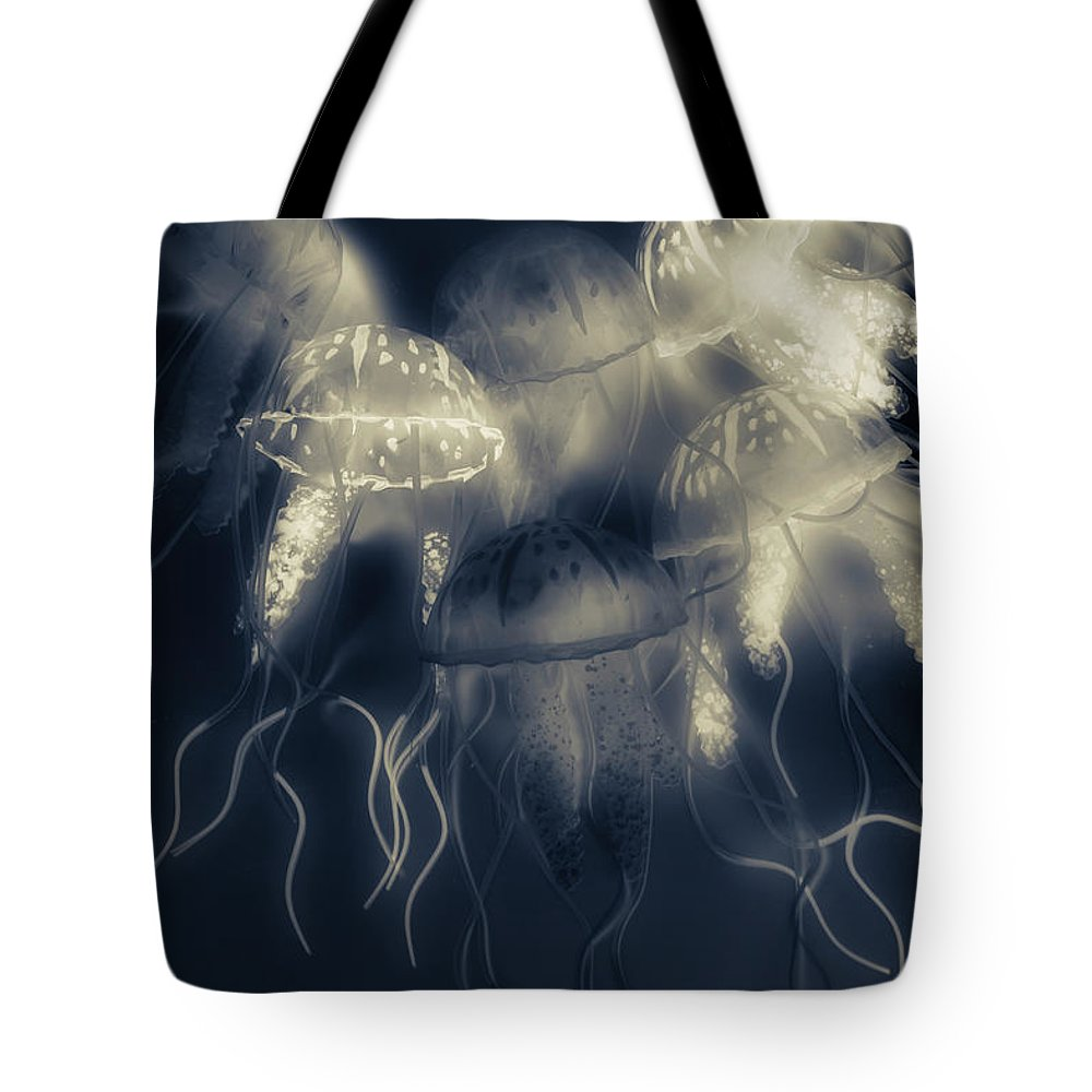 Sea Tote Bag featuring the photograph Crepsiculs - An Awakening by Jorgo Photography - Wall Art Gallery