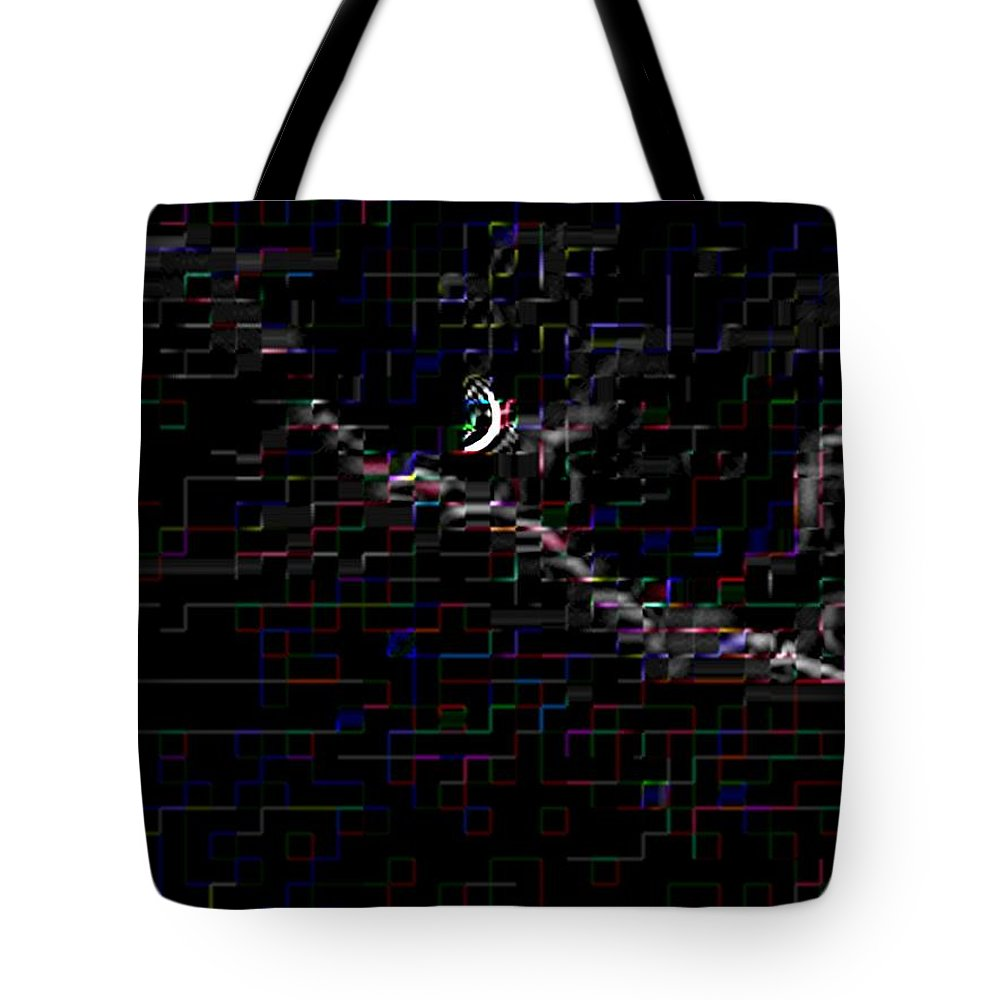Moon Tote Bag featuring the photograph Crescent Rising by Tim Allen