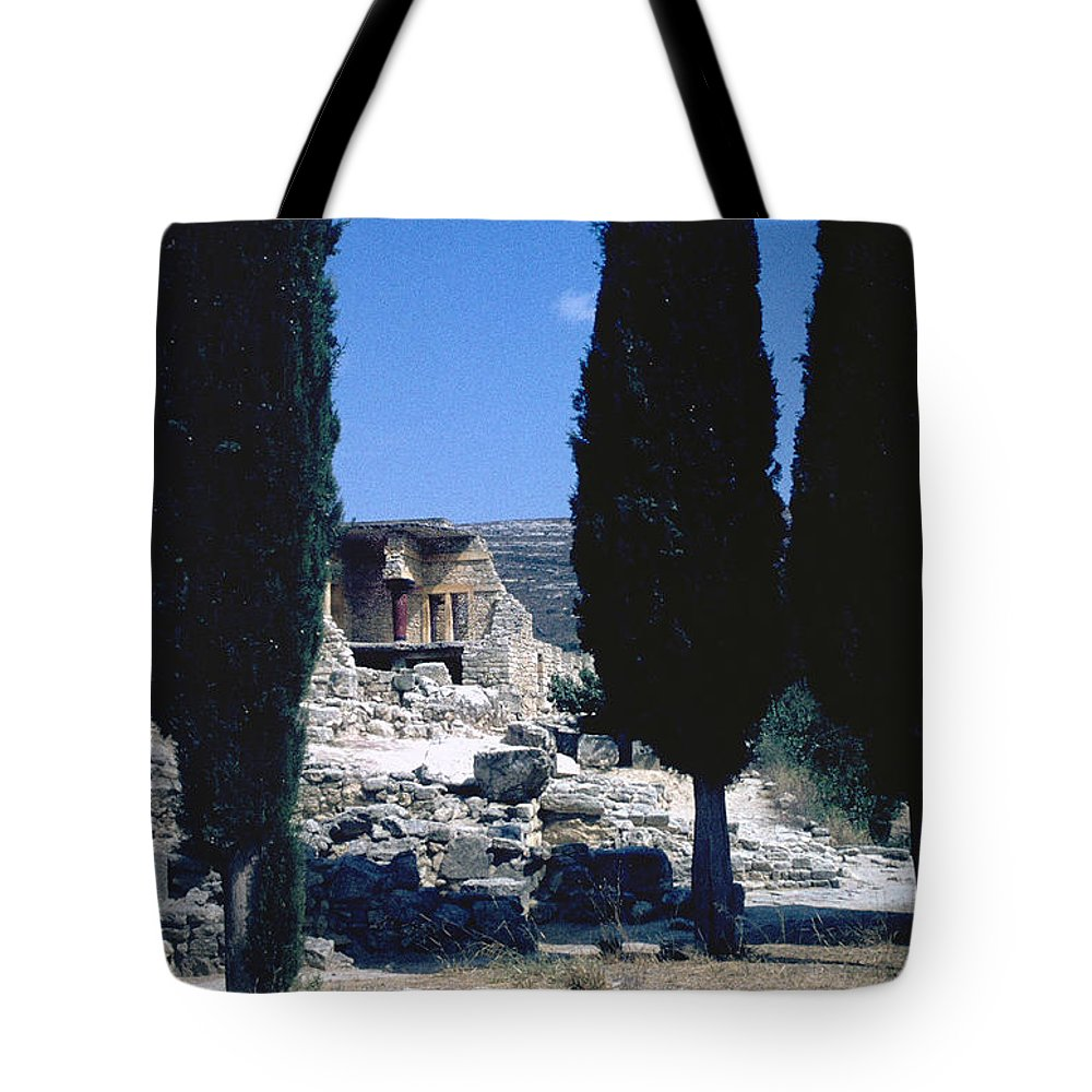 Crete Tote Bag featuring the photograph Crete by Flavia Westerwelle