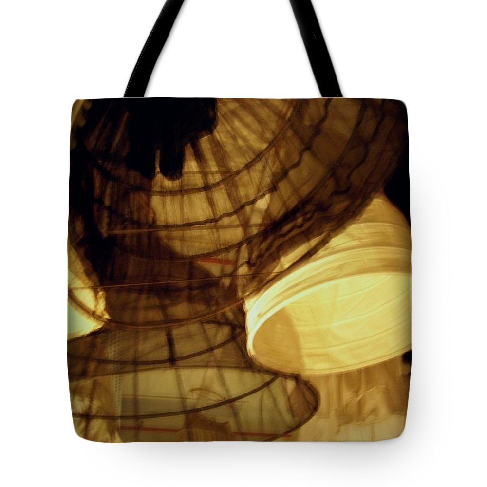 Theatre Tote Bag featuring the photograph Crinolines by Ze DaLuz