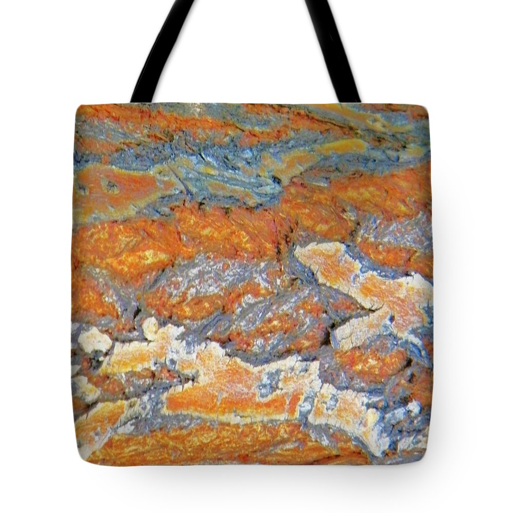Abstract Tote Bag featuring the photograph Crocodile Waters by Lenore Senior