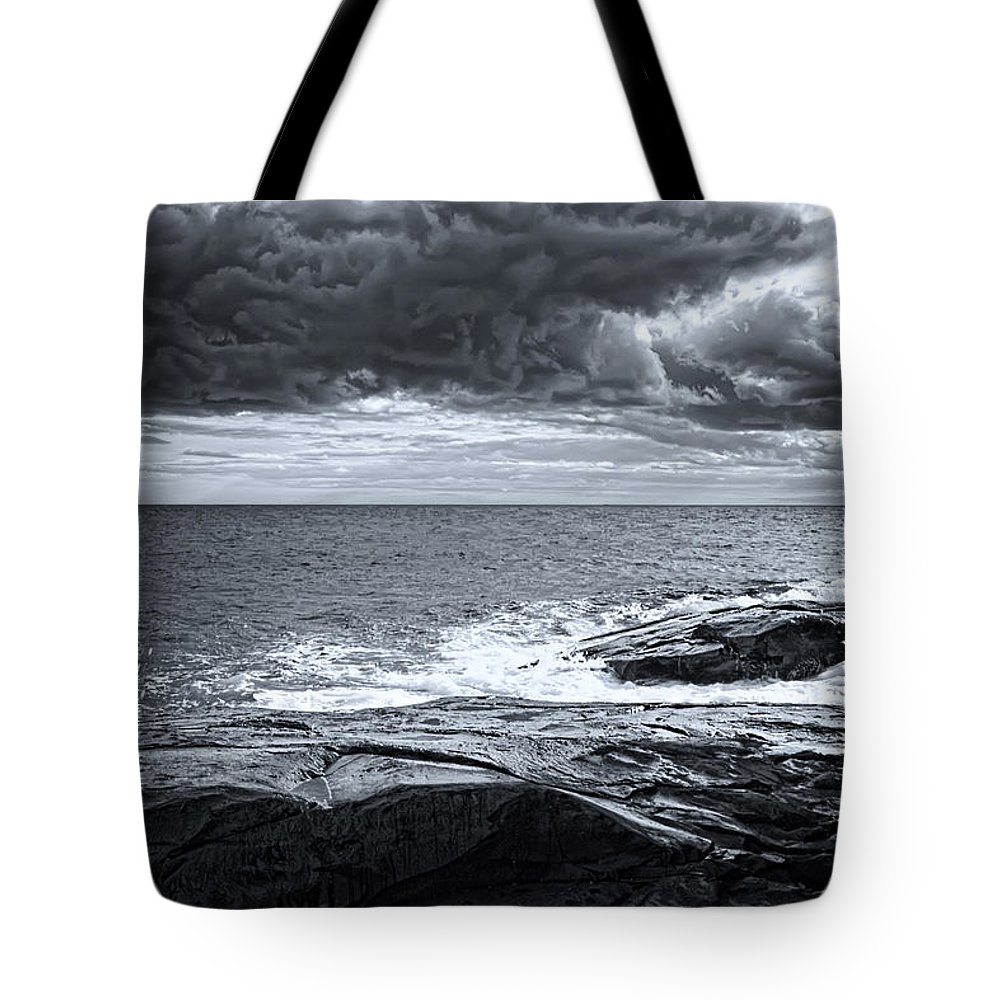 Autumn Tote Bag featuring the photograph Cross Of Light by Richard Bean