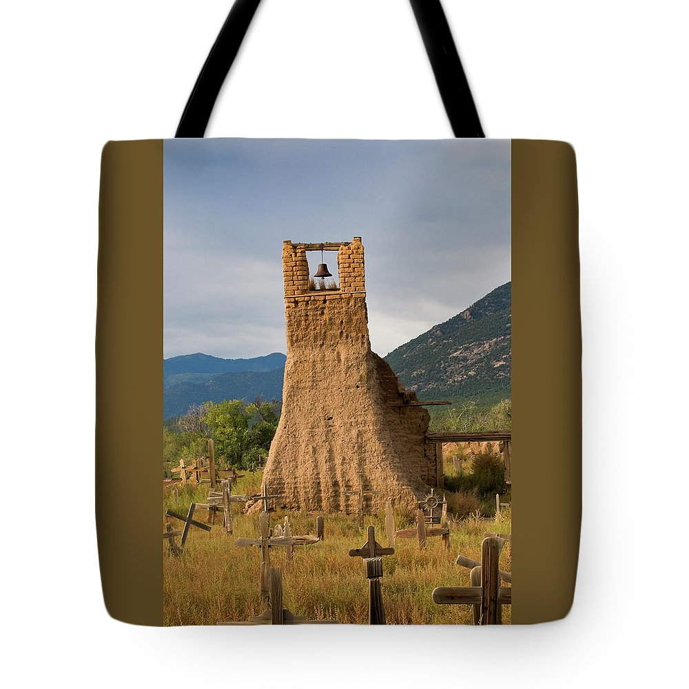 Southwest Tote Bag featuring the photograph Cross Roads by Jim Benest