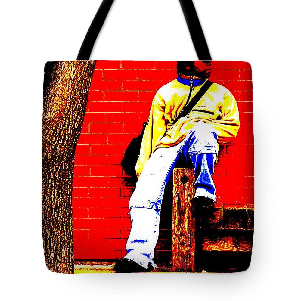 Canvas Tote Bag featuring the photograph Cross Town Run by Albert Stewart