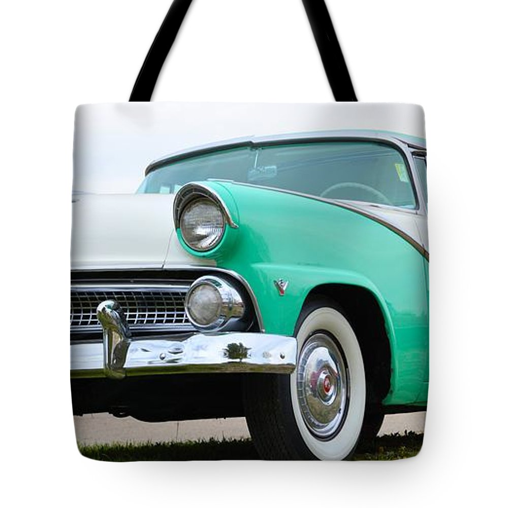 50s Tote Bag featuring the photograph Crown Victoria by Bonfire Photography