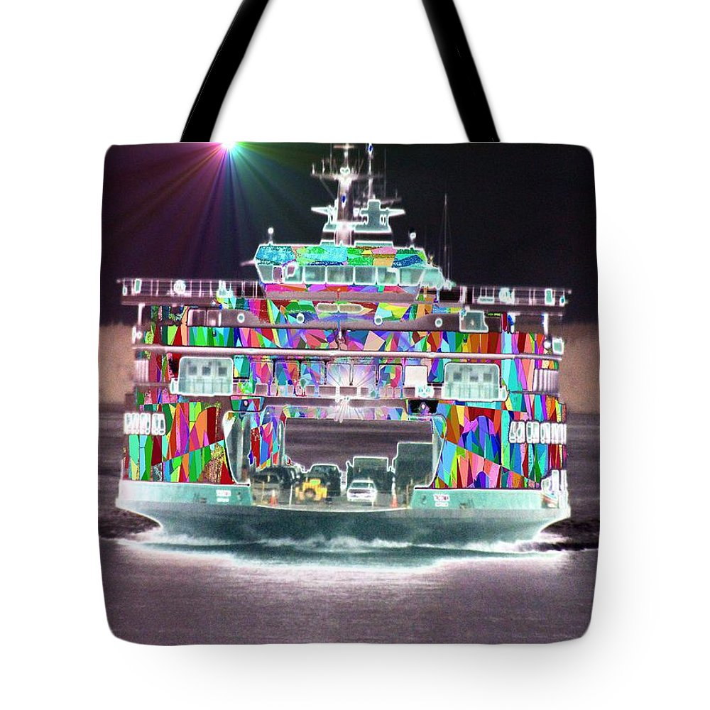 Abstract Tote Bag featuring the photograph Cruisin by Tim Allen