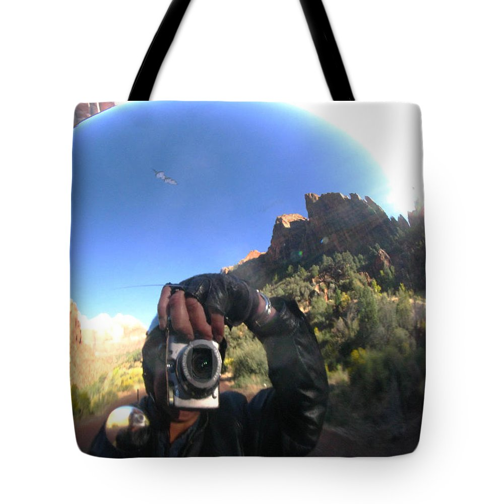 Zion Tote Bag featuring the photograph Crusin' Zion by Cathy Franklin