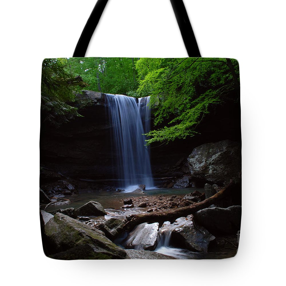 Cucumber Tote Bag featuring the photograph Cucumber falls by Amanda Jones