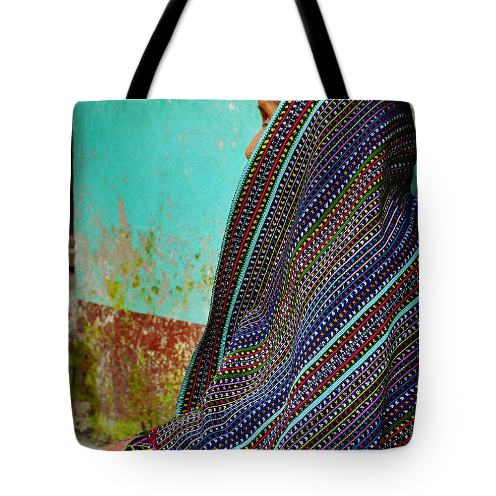 Skip Hunt Tote Bag featuring the photograph Curandera by Skip Hunt