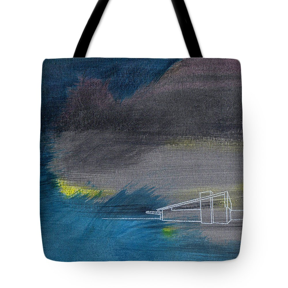 palm Springs Tote Bag featuring the painting Curious Alexander by Stan Magnan