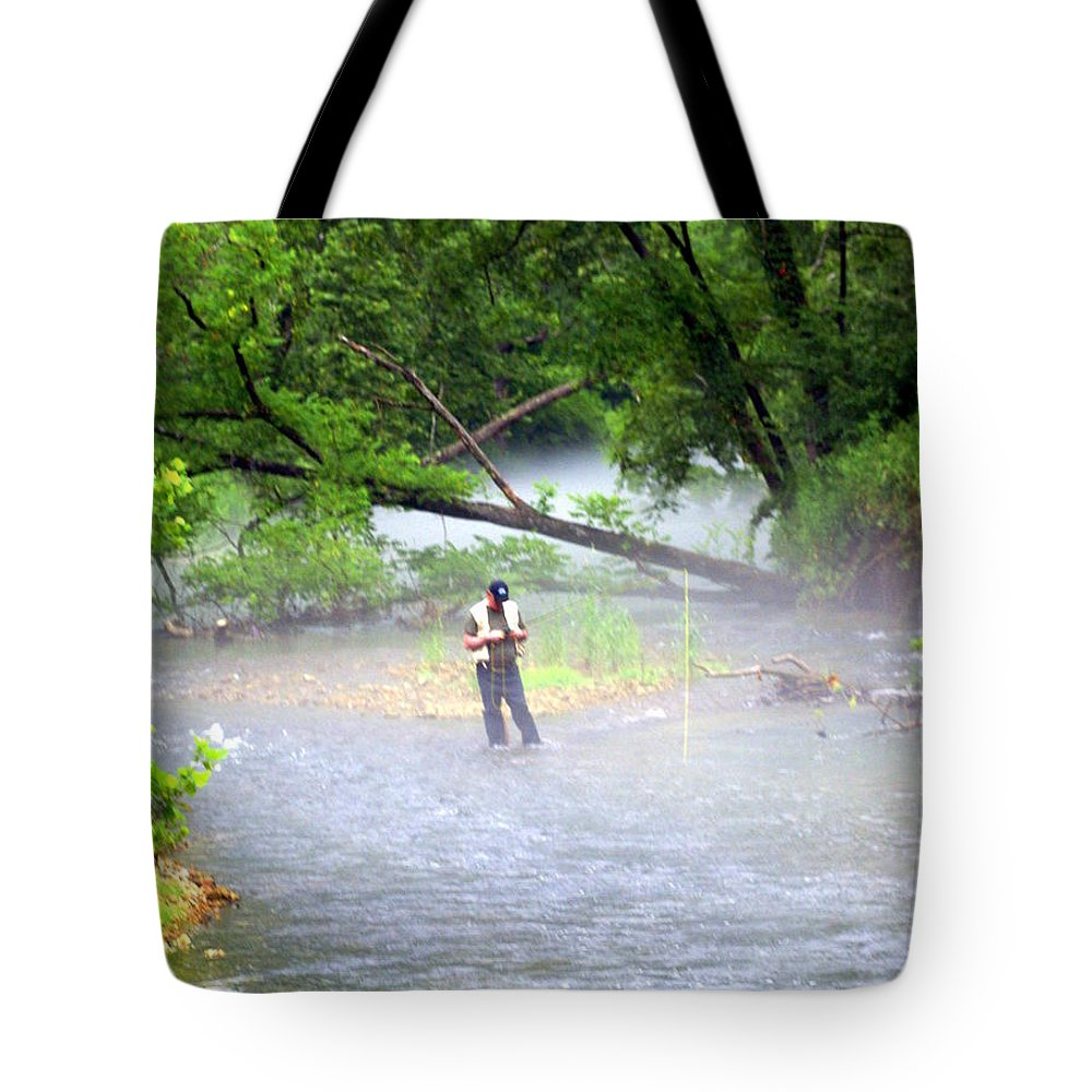 Current River Tote Bag featuring the photograph Current River 6 by Marty Koch