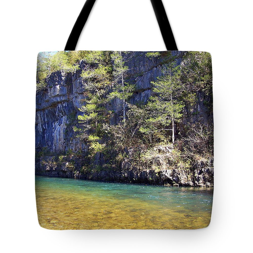 Current River Tote Bag featuring the photograph Current River 7 by Marty Koch