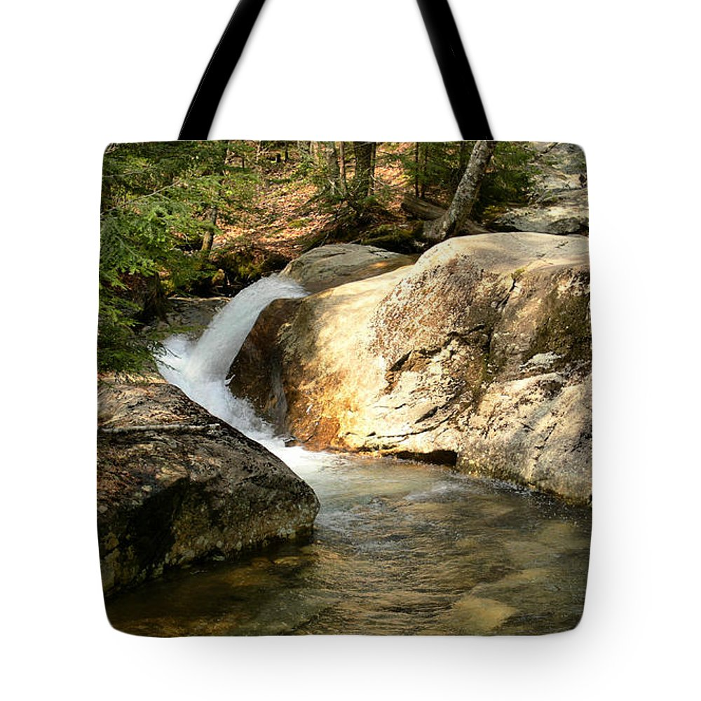 New Hampshire Tote Bag featuring the photograph Curve by Nancie DeMellia
